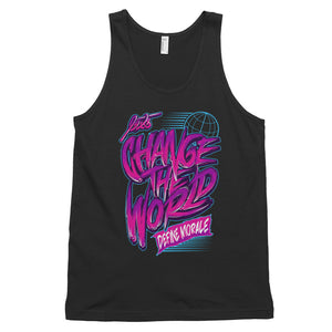 Change the World - (Black) Classic tank top (unisex)