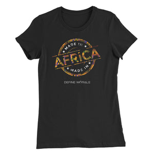 Made In Africa - Women's Slim Fit T-Shirt