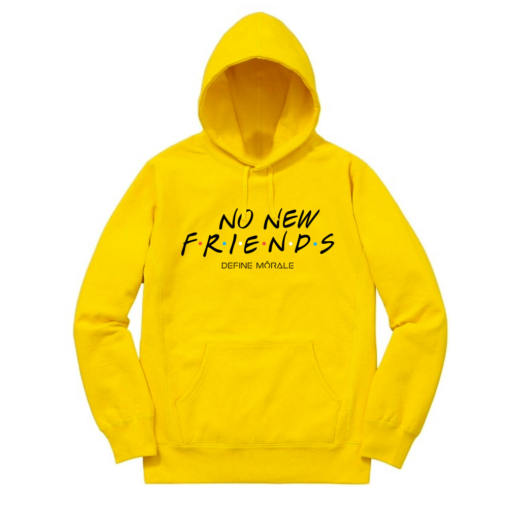 No New Friends - (Gold) Unisex Hoodie