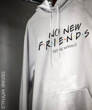 No New Friends - (White) Unisex Hoodie