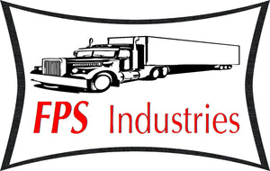 FPS Industries logo manufacturer of the best semi truck spare tire carrier