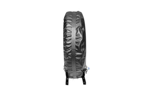 Semi Truck Spare Tire Carrier and canvas cover