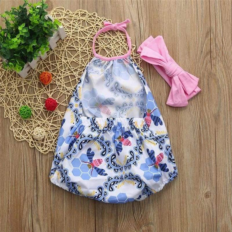 , 2Pcs Baby Girls newborn rompers Infant Floral, Kids & Babies, Maternity Fashion and Parenting Gadgets