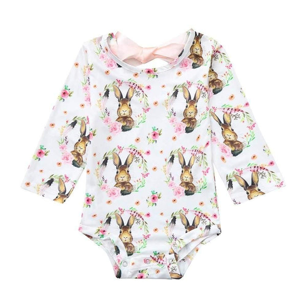 , Baby romper with bow in cute design, Kids & Babies, Maternity Fashion and Parenting Gadgets