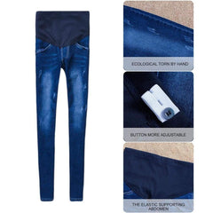 , Bump Support Denim Maternity Jeans, Jeans, Maternity Fashion and Parenting Gadgets