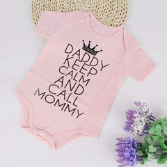 , Daddy Cannot Keep Calm - Baby BodySuit, Baby Shower Gifts, Maternity Fashion and Parenting Gadgets