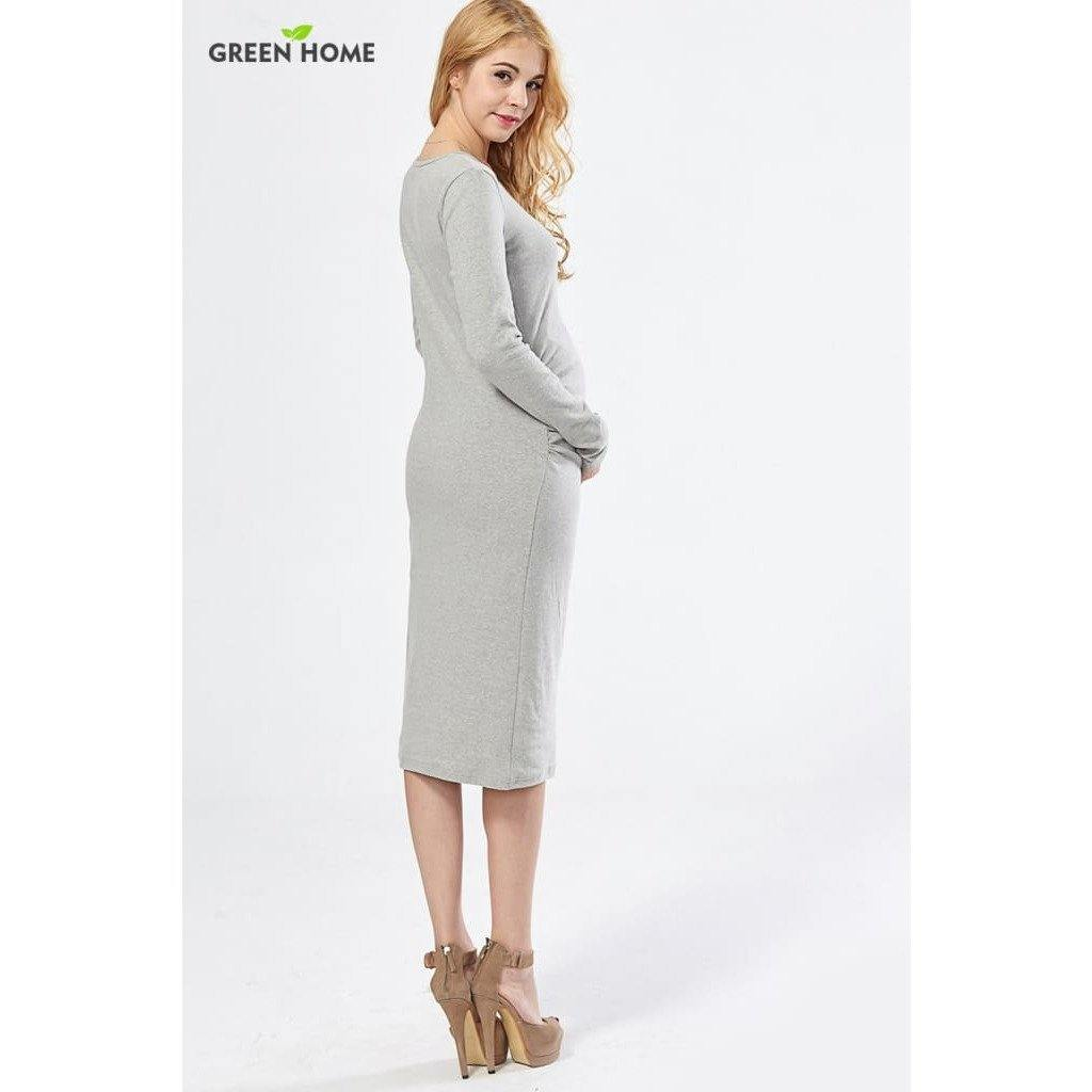 , High quality long maternity dress in 4 colours, Maternity Dresses, Maternity Fashion and Parenting Gadgets