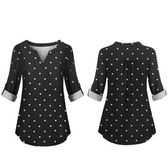 , Nursing Top - Dotted, maternity top, Maternity Fashion and Parenting Gadgets