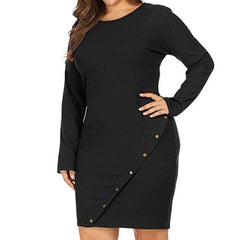 , Plus Size Maternity Solid Dress Women Casual, maternity dress, Maternity Fashion and Parenting Gadgets