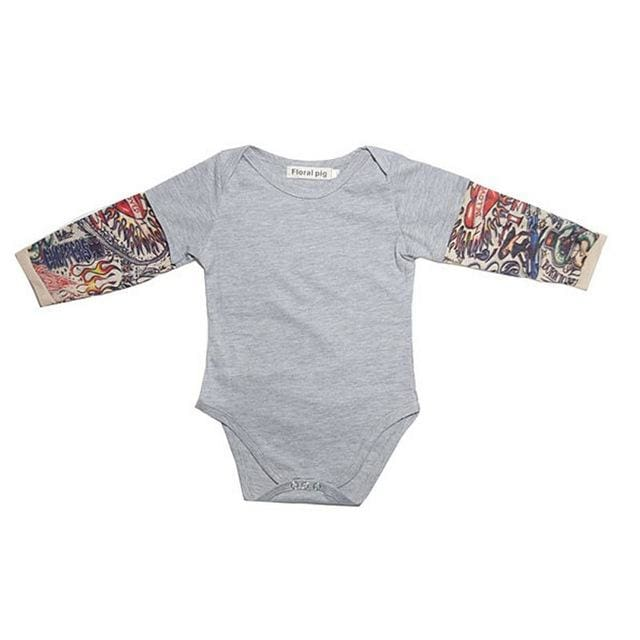, Tattoed Baby - LongSleeve Shirt, Baby Shower Gifts, Maternity Fashion and Parenting Gadgets