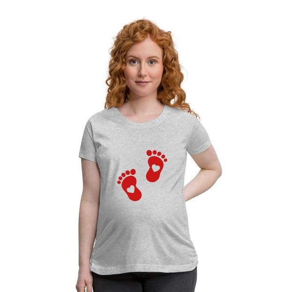 , Women's Maternity T-Shirt - Baby feeties design, Women's Maternity T-Shirt, Maternity Fashion and Parenting Gadgets