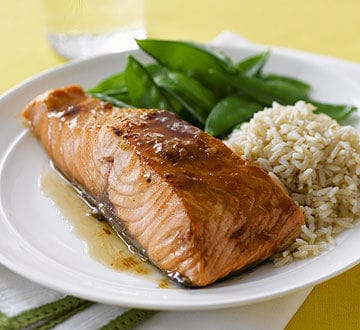 Brown-Sugar-Glazed Salmon