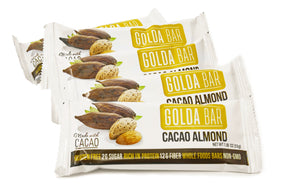Sample Pack of 2 Cacao Almond Bars