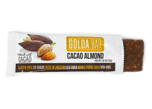 Variety Pack of 12 Bars (6 Hint of Peppermint & 6 Cacao Almond)