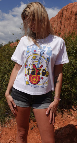T-shirt ample love guitard