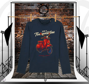 T-shirt manches longues Navy Transportation