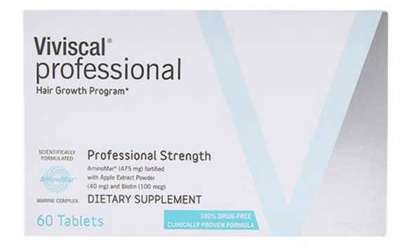Viviscal Professional Strength Hair Growth Supplement - 1 Month Supply 60 Tablets