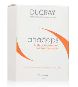 Ducray Anacaps Dietary Supplement (60 capsules)