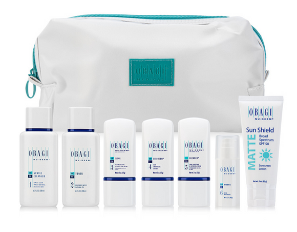Obagi Nu-Derm Fx System Normal to Dry (8 piece)