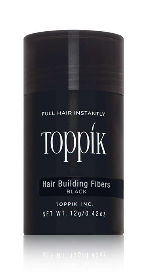 Toppik Hair Building Fibers 30 Day - Black (0.42 oz.)