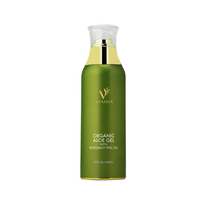 Vanissa Organic Aloe Gel - Made with Bergamot Peel Oil