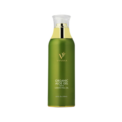 Vanissa Organic Aloe Gel - Made with Lemon Peel Oil
