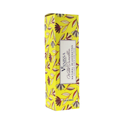 Vanissa Natural Hand Cream - Wild Camellia Scent - Made with Shea Butter, Jojoba Oil, Collage, & CoQ10
