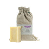 Vanissa Organic Soap Bar - Face Bar - Lavender & Comfrey - Made with Certified Organic Ingredients