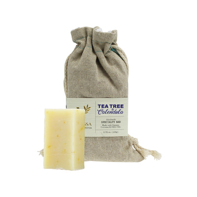 Organic Handmade Specialty Bar - Tea Tree & Calendula