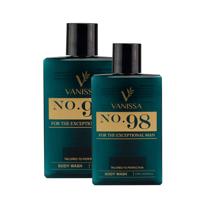Vanissa Men's Body Wash - Masculine Scent - No.98