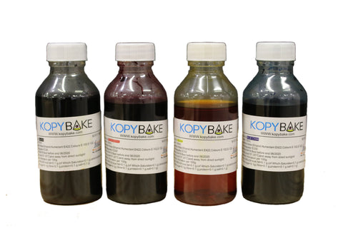 Canon Edible Inks (CYMK, 400ML) - Kopybake
