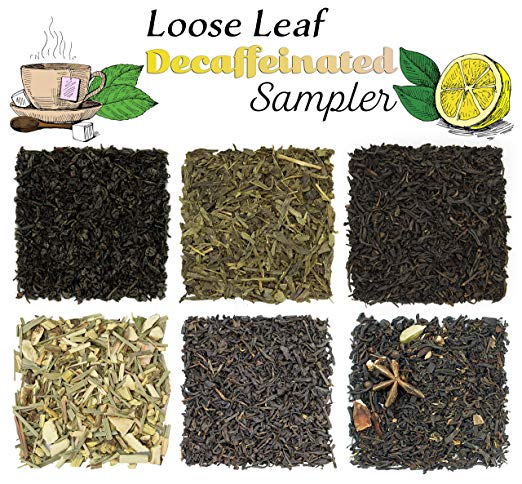 Solstice Decaf Loose Leaf Tea Sampler - SolsticeTeaTraders