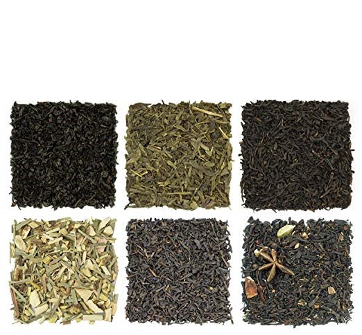 Solstice Decaf Loose Leaf Tea Sampler