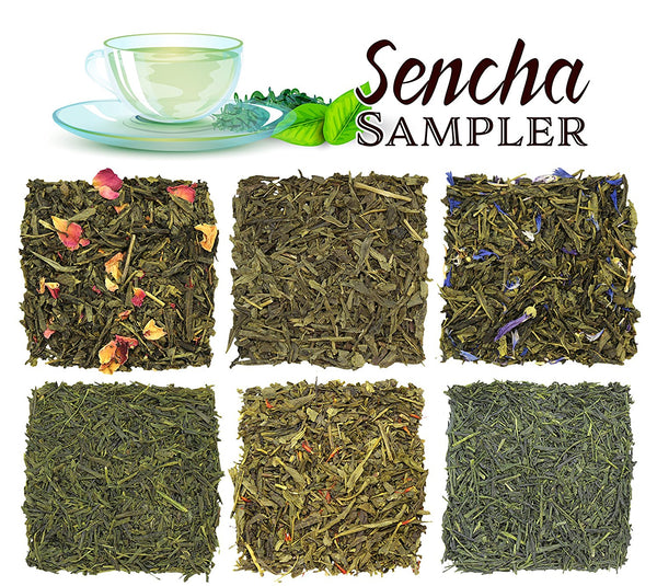 Hot & Cold Sencha Green Tea Sampler - SolsticeTeaTraders