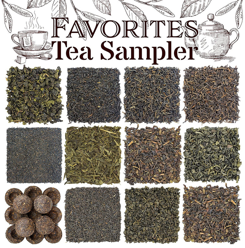 Solstice Loose Tea Favorites Sampler - SolsticeTeaTraders