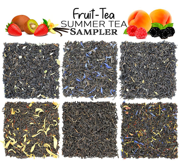 Fruit Tea Summer Tea Sampler - SolsticeTeaTraders