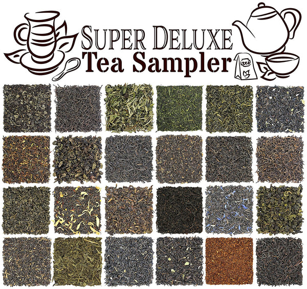 24-Tea Super Deluxe Sampler - SolsticeTeaTraders
