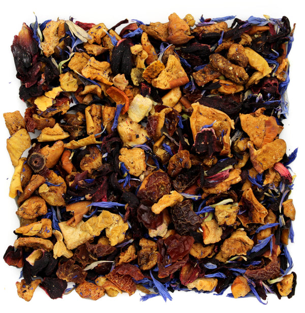 Blue Eyes Hibiscus Herbal Tea Sample - SolsticeTeaTraders