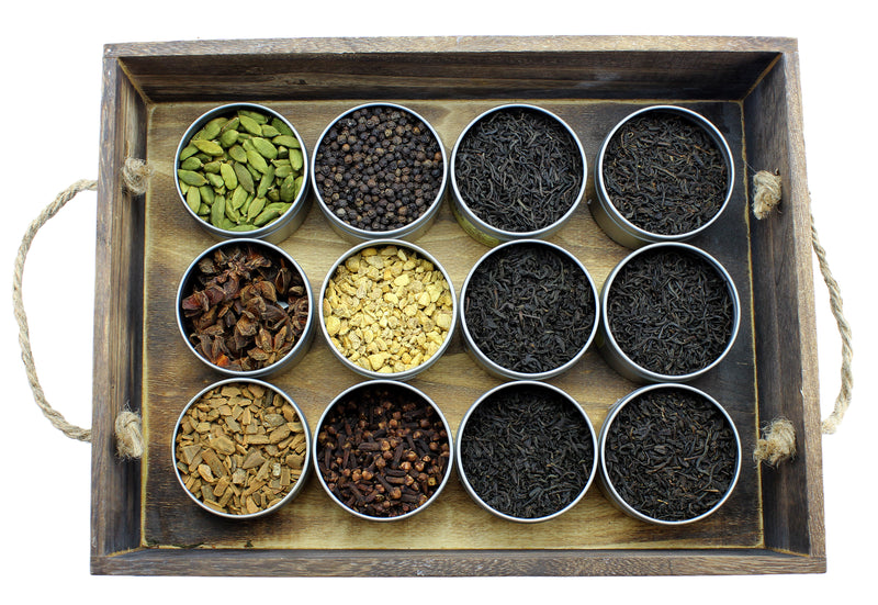 """Creativi-Tea"" Create Your Own Chai Starter Kit - SolsticeTeaTraders"