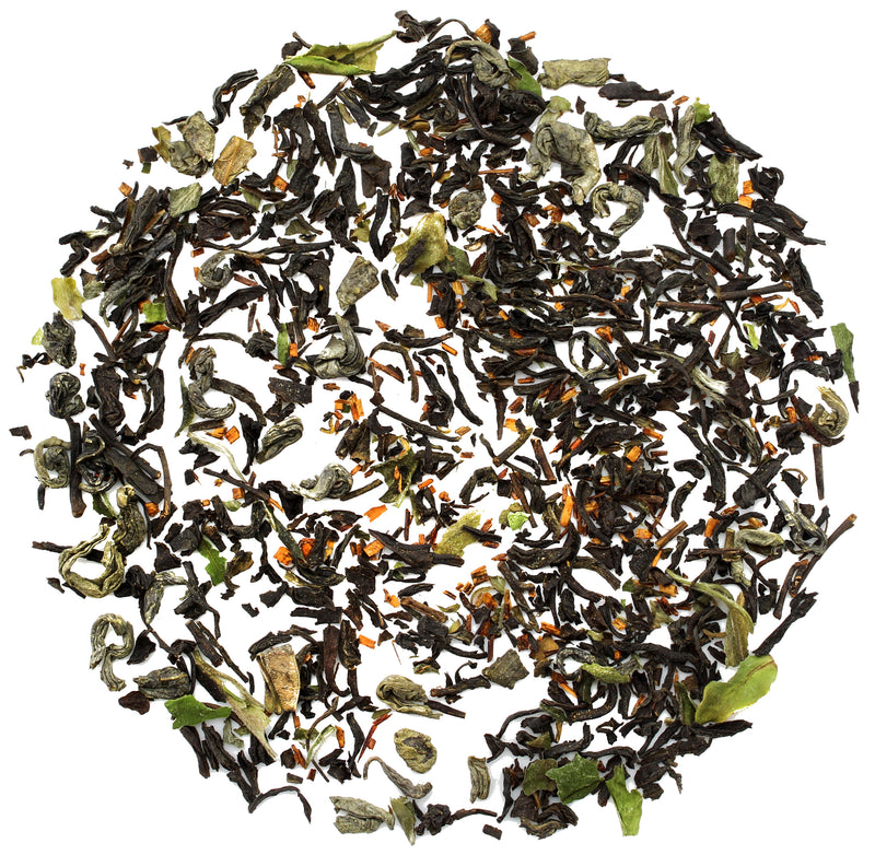 Solstice 5-Tea Kombucha Blend Black, Green, White, Rooibos & Yerba Mate Tea - SolsticeTeaTraders