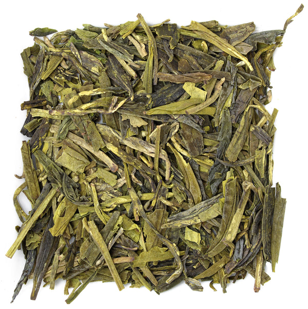 Dragonwell Green Tea Sample (Grade 4) - SolsticeTeaTraders