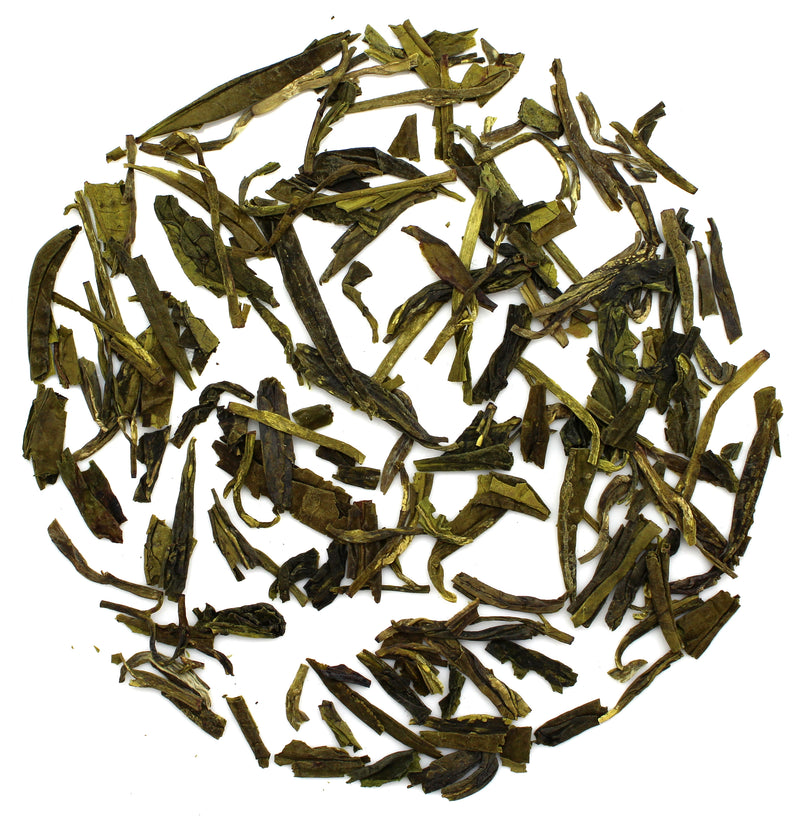 Dragon Well Green Tea (Grade 4) - SolsticeTeaTraders
