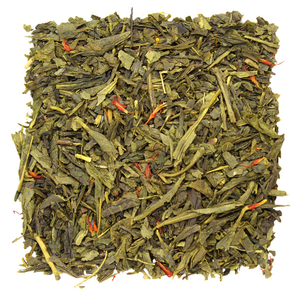 Mandarin Sencha Green Tea Sample - SolsticeTeaTraders