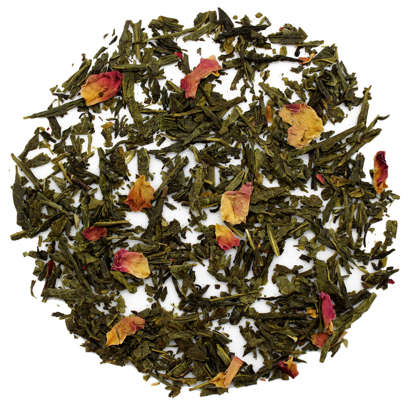 Pomegranate Sencha Green Tea - SolsticeTeaTraders
