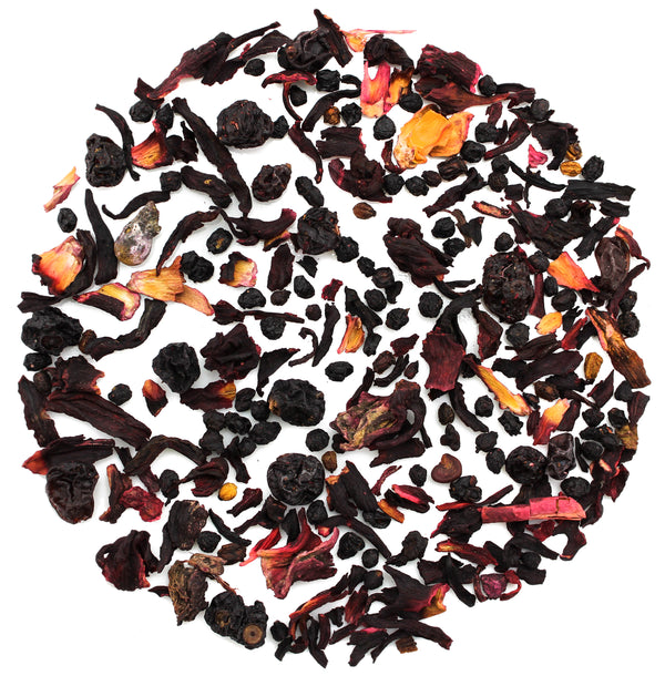 Red Fruit Cocktail Herbal Tea - SolsticeTeaTraders