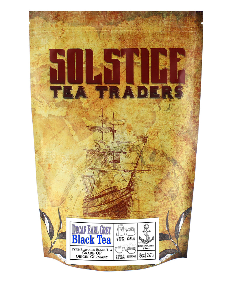 Decaffeinated Earl Grey Black Tea - SolsticeTeaTraders