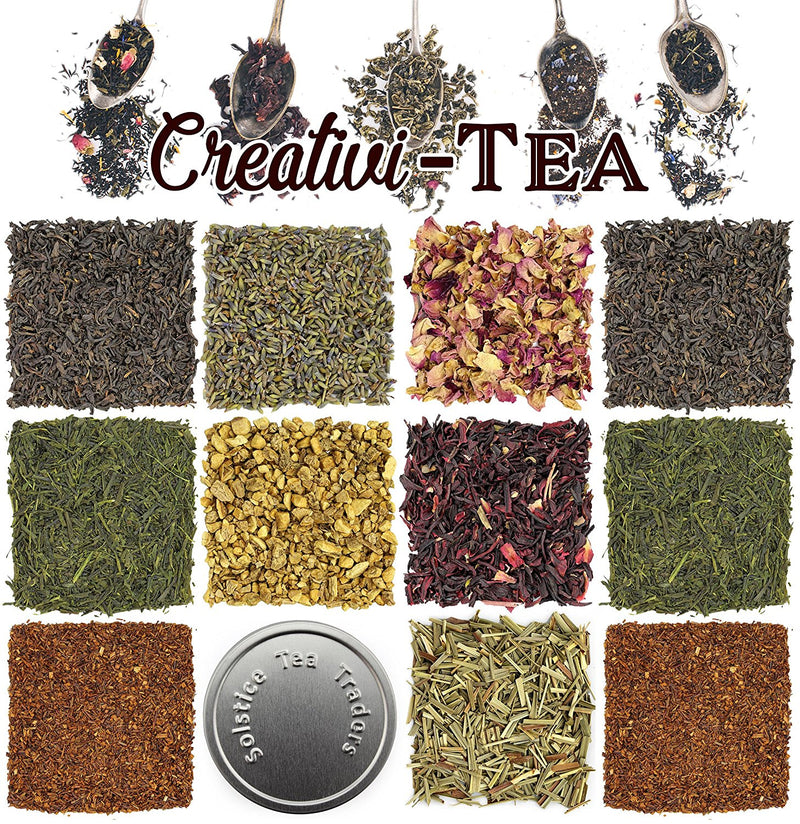 """Creativi-Tea"" Create Your Own Blend Starter Kit - SolsticeTeaTraders"