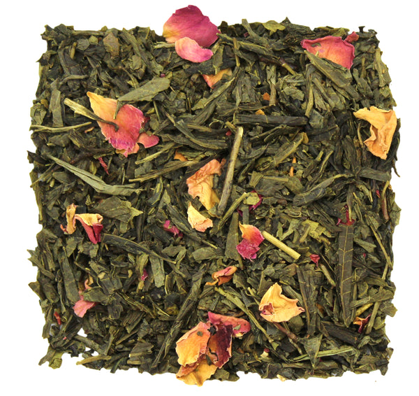 Pomegranate Sencha Green Tea Sample - SolsticeTeaTraders