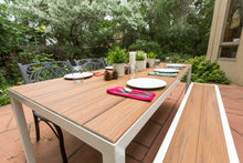 Outdoor Table + Bench