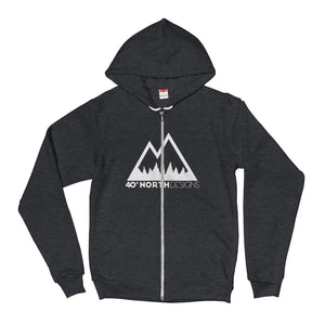 40 North Designs Zip Up Sweater